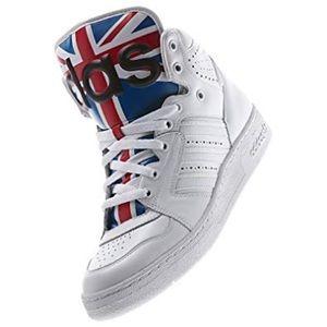 Adidas Jeremy Scott sneakers size 5 1/2 to 6